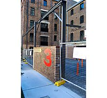 The Flour MIll Apartments Photographic Print