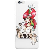 Pirate pinup 'Yarr!' iPhone Case/Skin