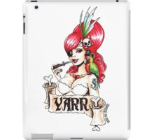 Pirate pinup 'Yarr!' iPad Case/Skin