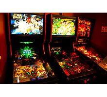 Pinball Wizard Photographic Print