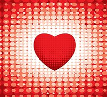 Valentines Day Retro Heart by holidayswaggv
