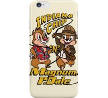 Indiana Chip 'n' Magnum, P.Dale iPhone Case/Skin