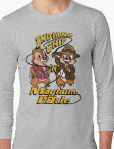 Indiana Chip 'n' Magnum, P.Dale Long Sleeve T-Shirt