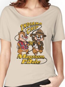 Indiana Chip 'n' Magnum, P.Dale Women's Relaxed Fit T-Shirt