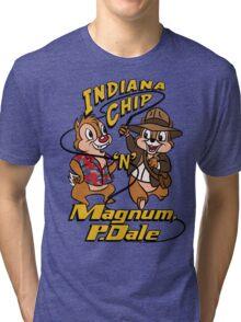 Indiana Chip 'n' Magnum, P.Dale Tri-blend T-Shirt