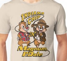 Indiana Chip 'n' Magnum, P.Dale Unisex T-Shirt