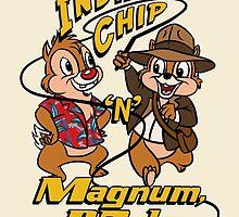 Indiana Chip 'n' Magnum, P.Dale by Ellador