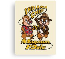 Indiana Chip 'n' Magnum, P.Dale Canvas Print