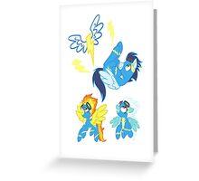 Equestrias Fastest Flyers Greeting Card