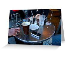 Coffee Table Newtown Greeting Card