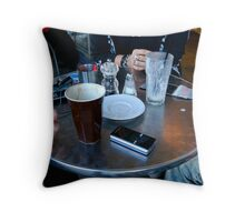 Coffee Table Newtown Throw Pillow