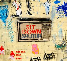 Sit Down - Street Poster 03 by tano