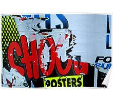 Shout Pop - Street Poster 06 Poster