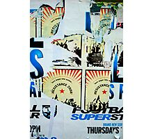 Revolution! - Street Poster 07 Photographic Print