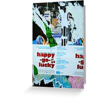 Lucky Cherry - Street Poster 08 Greeting Card
