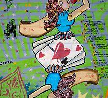 Queen of Swords - Street Poster 10 by tano