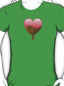 Valentines Chocolate Dipped Heart T-Shirt