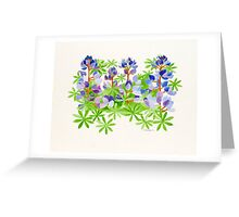The color of Point Fermin    Greeting Card