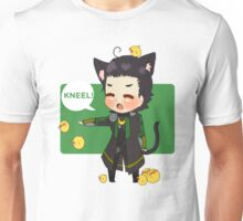 Chibi Lokitty - Kneel! Unisex T-Shirt