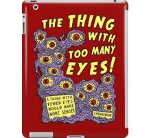 Too Many Eyes iPad Case/Skin