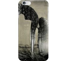 outside she folds inside she grows iPhone Case/Skin
