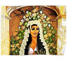 Flowers for the Bride Poster