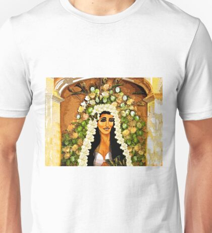 Flowers for the Bride Unisex T-Shirt