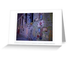 Stencil Wall - Polaroid Greeting Card