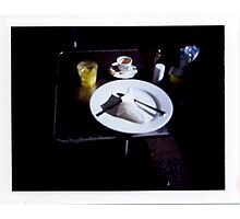 Breakfast - Polaroid Photographic Print