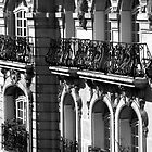 Parisian Balconies, Paris by Elana Bailey