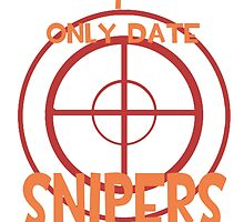 I only date snipers- RED by macncheesecabra