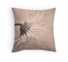 Vintage Gerbera Throw Pillow