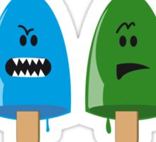 Emotional Range of Popsicles Sticker