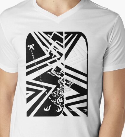 cutandpaste Mens V-Neck T-Shirt
