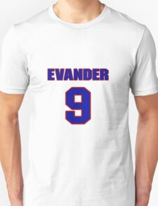National Hockey player Evander Kane jersey 9 T-Shirt