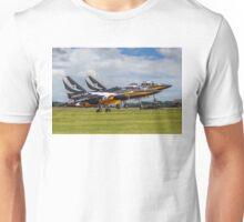 Black Eagles take-off Pair Unisex T-Shirt