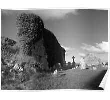 Old church ruins Poster