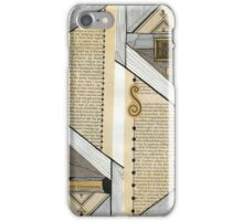 A picture of long ago iPhone Case/Skin