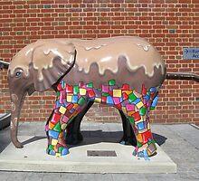 Melting choc elephant by chriskooc