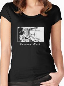 Burning Bush T-shirt Women's Fitted Scoop T-Shirt