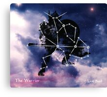 ES Birthsigns: The Warrior Canvas Print