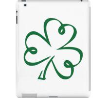 Shamrock clover iPad Case/Skin
