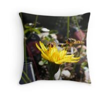 Nectar Breakfast Throw Pillow