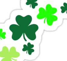 Shamrock clovers Sticker