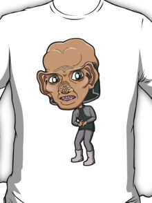Star Trek DS9 - Ferengi Engineer Rom Chibi Sticker T-Shirt