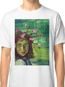 The Muse Portrait by Gretchen Smith Classic T-Shirt