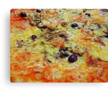 Pizza................................The Nice Way Canvas Print