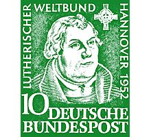 Martin Luther (Deutsche Bundespost) Photographic Print