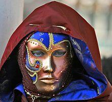 Venetian Carnival Mask by Garrington