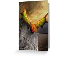 Dragon Of The Opera Greeting Card